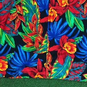 Hilo Hattie Shirts - Vintage HILO HATTIE Hawaiian Shirt MADE IN HAWAII